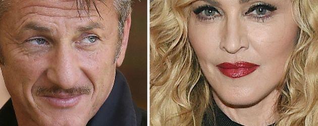 Madonna und Sean Penn