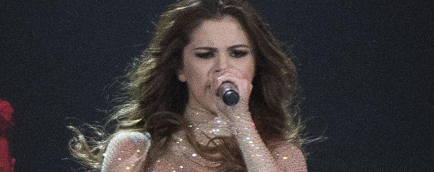 Selena Gomez bei einem Konzert in Kanada