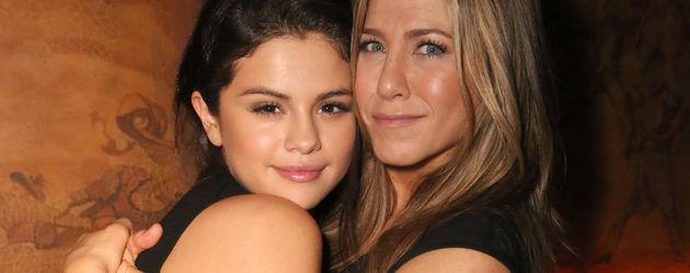 Jennifer Aniston und Selena Gomez