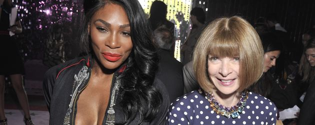 Tennis-Star Serena Williams und Vogue-Chefin Anna Wintour