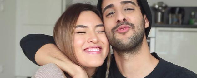 Shanti Tan und Sami Slimani