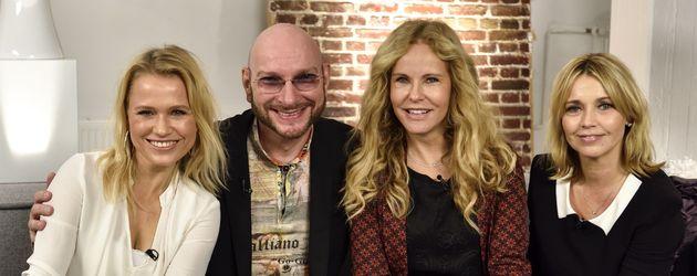 Katja Burkard, Nova Meierhenrich und Tina Ruland