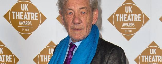 Sir Ian McKellen bei den UK Theatre Awards 2016