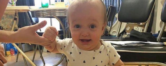 Liam, Sohn von MMA-Kämpfer Marcus Kowal