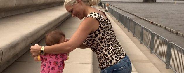 Sophia Cordalis mit ihrer Mama Daniela Katzenberger