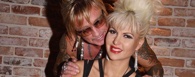 Bert und Sophia Wollersheim im Clubhaus St. Pauli