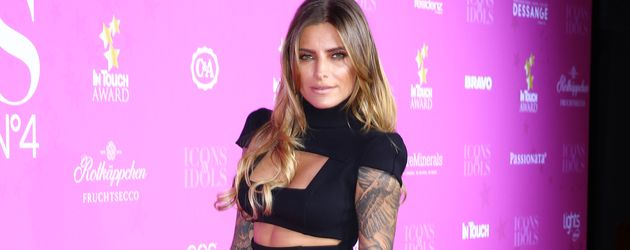 Sophia Thomalla auf dem Red Carpet der InTouch Awards