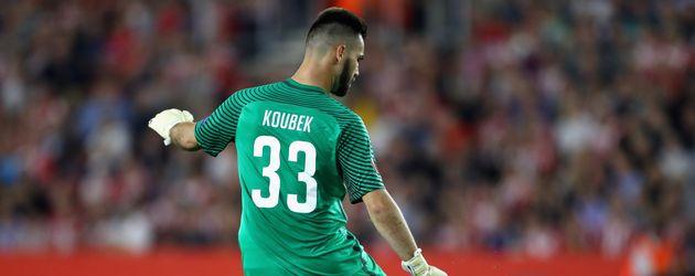 Fußball-Torwart Tomas Koubek