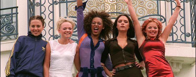 Die Spice Girls im Jahr 1997