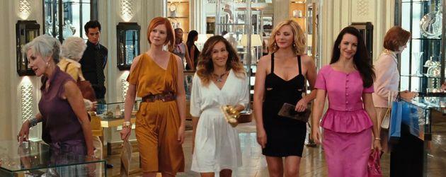"Cynthia Nixon, Sarah Jessica Parker, Kim Cattrall und Kristin Davis in ""Sex and the City 2"""