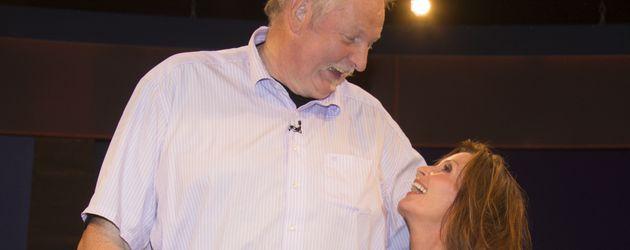 """Tamme Hanken und Susanne Uhlen bei """"Markus Lanz"""" in Hamburg"""