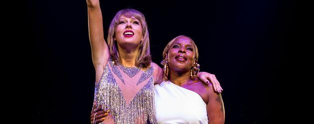 Taylor Swift und Mary J. Blige