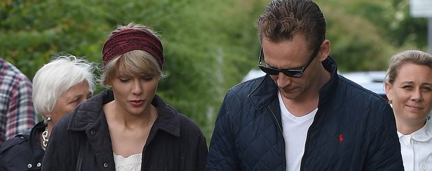 Taylor Swift und Tom Hiddleston in Lowestoft