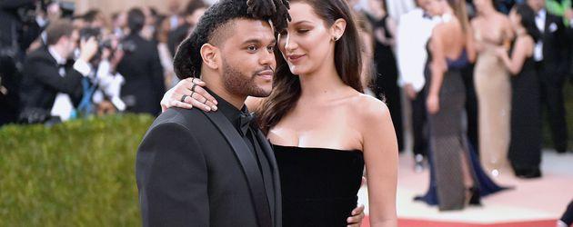 The Weeknd und Bella Hadid in New York