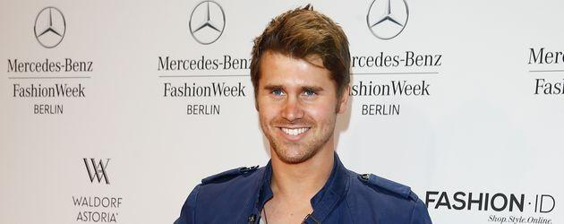Thore Schölermann bei einer Fashion Week Party in Berlin