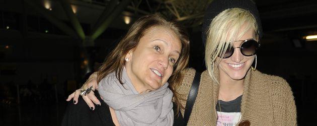 Ashlee Simpson und Tina Simpson