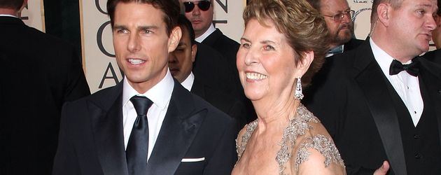 Tom Cruise und seine Mutter Mary Lee South