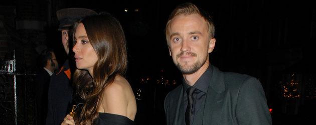 Jade Olivia und Tom Felton