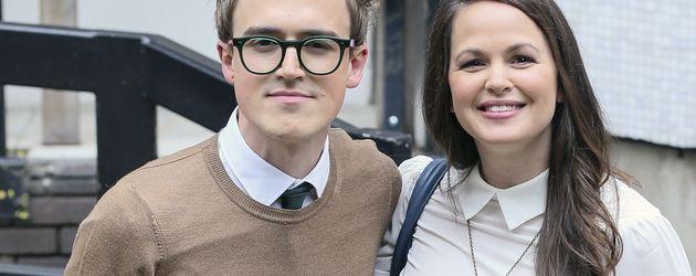 Tom und Giovanna Fletcher bei den ITV-Studios in London
