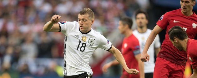 Toni Kross beim EM-2016-Match Deutschland gegen Polen im Stade de France