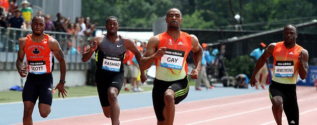 Tyson Gay in NYC