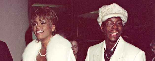 Whitney Houston, Bobby Brown und Bobbi Kristina im Jahr 1998