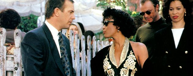 Whitney Houston und Kevin Costner