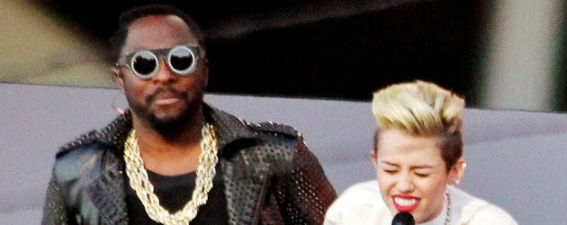 Miley Cyrus und Will.i.am