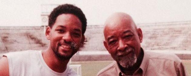 Will Smith mit seinem Sohn Trey und seinem Vater Will Smith Sr.