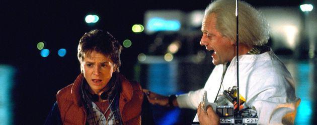 Zurück in die Zukunft: Marty McFly und Doc Brown